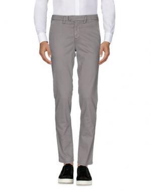 Повседневные брюки HAIKURE. Цвет: серый