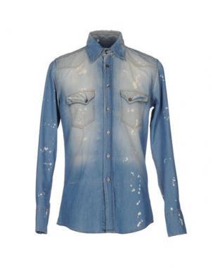 Джинсовая рубашка DOLCE & GABBANA. Цвет: синий