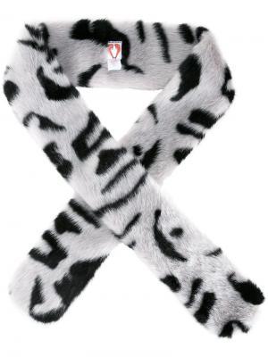 Henry faux fur scarf Shrimps. Цвет: белый