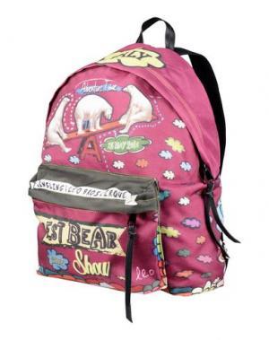 Рюкзаки и сумки на пояс LEO STUDIO DESIGN. Цвет: фуксия