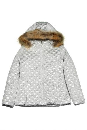 Куртка VIADELLEPERLE VDP. Цвет: camp, серебряный