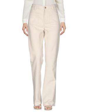 Повседневные брюки SWILDENS. Цвет: светло-серый