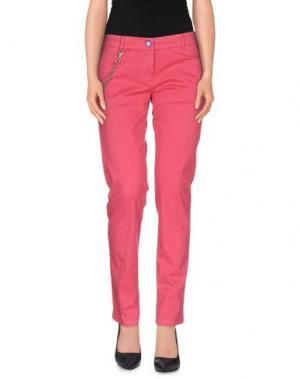 Повседневные брюки MODFITTERS. Цвет: коралловый