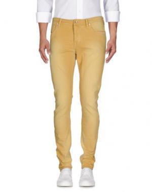 Джинсовые брюки SCOTCH & SODA. Цвет: охра