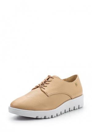 Ботинки Loucos & Santos. Цвет: бежевый