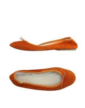 Балетки SUZIEMAS. Цвет: оранжевый