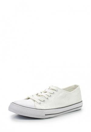 Кеды Calvin Klein Jeans. Цвет: белый