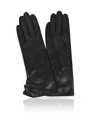 Перчатки MICHEL KATANA`. Цвет: черный