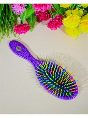 Расческа для волос Bizon. Цвет: фиолетовый
