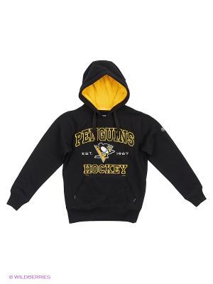 Толстовка NHL Penguins Atributika & Club. Цвет: черный
