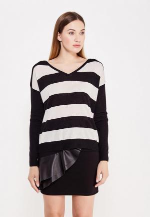 Пуловер Liu Jo Jeans. Цвет: черно-белый