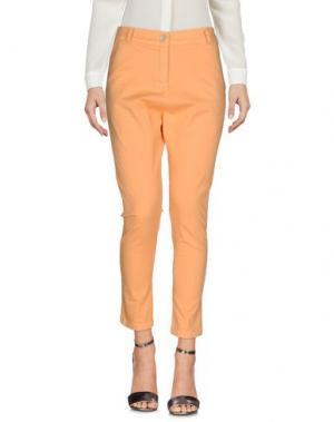 Повседневные брюки AMY GEE. Цвет: абрикосовый