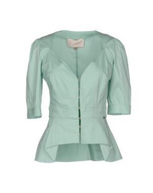 Pубашка BETTY BLUE. Цвет: светло-зеленый