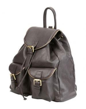 Рюкзаки и сумки на пояс PARENTESI. Цвет: темно-коричневый