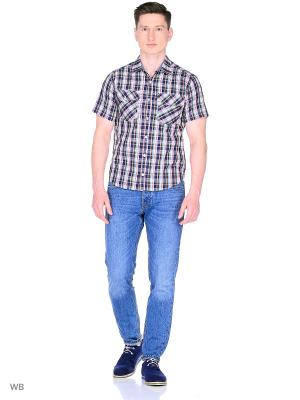 Рубашка YC COTTON. Цвет: черный, зеленый, красный