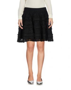Мини-юбка ELLA LUNA. Цвет: черный
