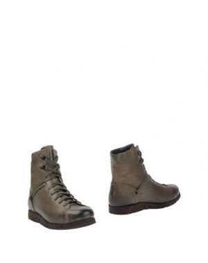 Полусапоги и высокие ботинки O.X.S.. Цвет: зеленый-милитари