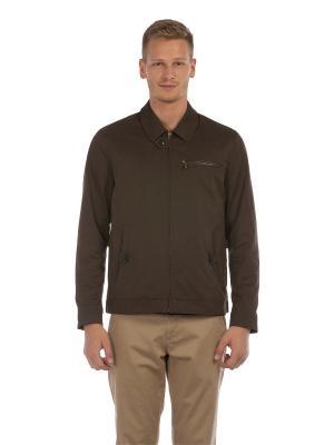 Куртка Colin's. Цвет: коричневый