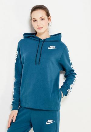 Худи Nike. Цвет: синий