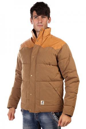 Куртка  Lumber Camel Fat Moose. Цвет: коричневый