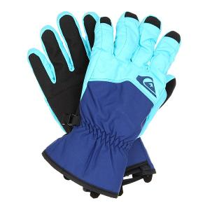 Перчатки сноубордические  Cross Glove Bluefish Quiksilver. Цвет: синий,голубой