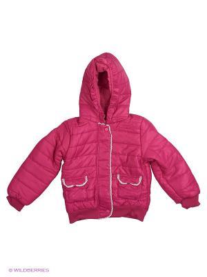 Куртка Sago Kids i Ant Domain. Цвет: розовый