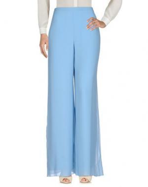 Повседневные брюки SEVERI DARLING. Цвет: небесно-голубой