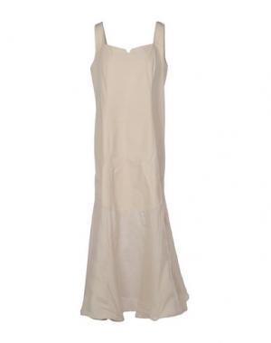 Длинное платье EUROPEAN CULTURE. Цвет: зеленый-милитари
