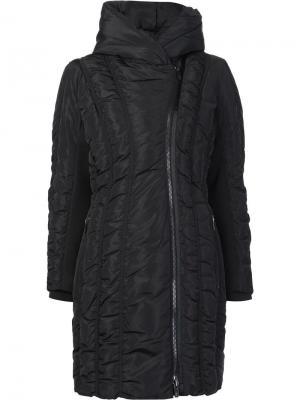 Пуховое пальто Leah Zac Posen. Цвет: чёрный