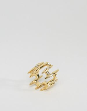 Cc Skye Кольцо Muholland. Цвет: золотой