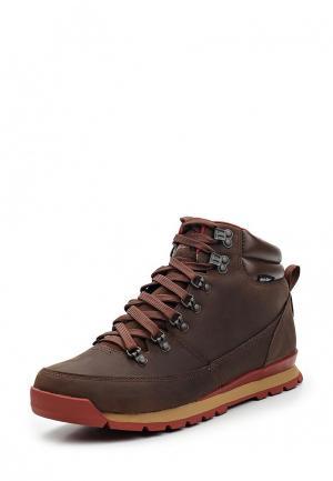 Ботинки The North Face. Цвет: коричневый