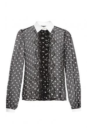 Блуза из вискозы 156151 Cristina Effe. Цвет: монохром