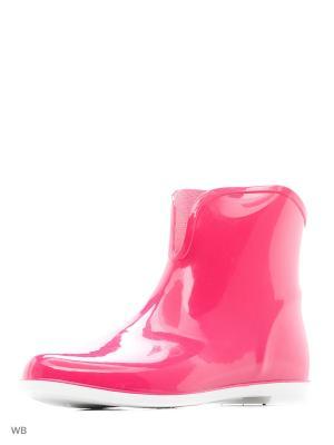 Резиновые Сапожки Из Поливинилхлоридной Композиции . BRIS. Цвет: розовый