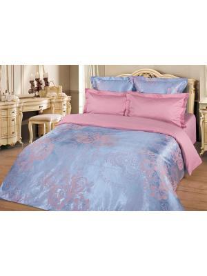 Комплект постельного белья 2-х сп., сатин-жаккард BegAl. Цвет: сиреневый