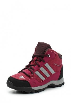 Ботинки трекинговые adidas Performance. Цвет: фуксия