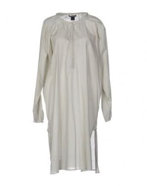 Платье до колена LAURA URBINATI. Цвет: светло-серый