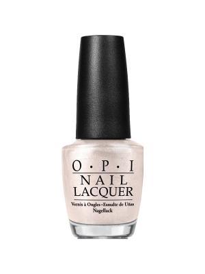 Opi Лак для ногтей Five-and-Ten, 15 мл. Цвет: бежевый