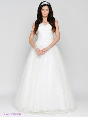 Платье свадебное X'Zotic. Цвет: молочный