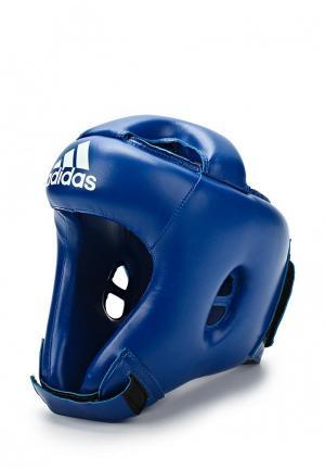 Шлем adidas Combat. Цвет: синий