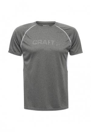 Футболка спортивная Craft. Цвет: серый