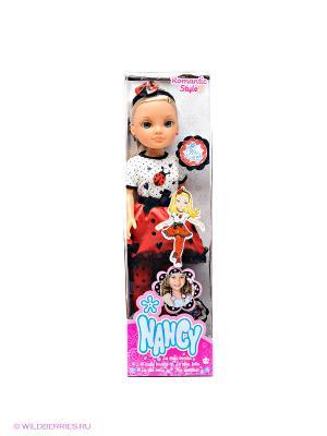 Кукла Нэнси Famosa. Цвет: красный, белый