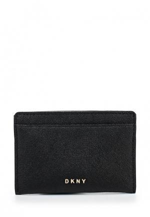 Визитница DKNY. Цвет: черный