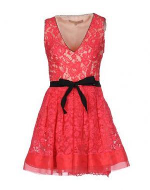 Короткое платье BABYLON. Цвет: фуксия