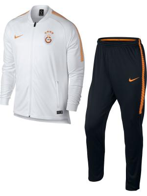Спортивный костюм GS M NK DRY SQD TRK SUIT K Nike. Цвет: белый, черный