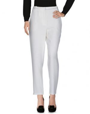 Повседневные брюки VANESSA BRUNO. Цвет: слоновая кость