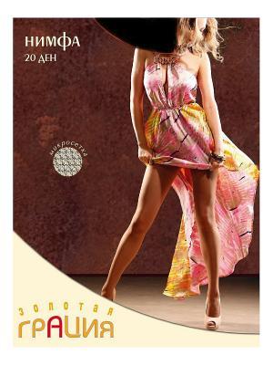 Колготки женские Нимфа Грация. Цвет: черный