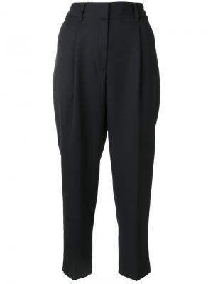 Укороченные зауженные брюки 3.1 Phillip Lim. Цвет: синий