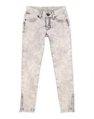Джинсовые брюки ROBERTO CAVALLI ANGELS. Цвет: бежевый