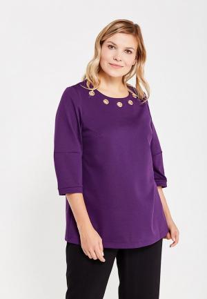 Блуза Lina. Цвет: фиолетовый