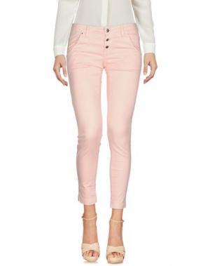 Повседневные брюки FLY GIRL. Цвет: розовый